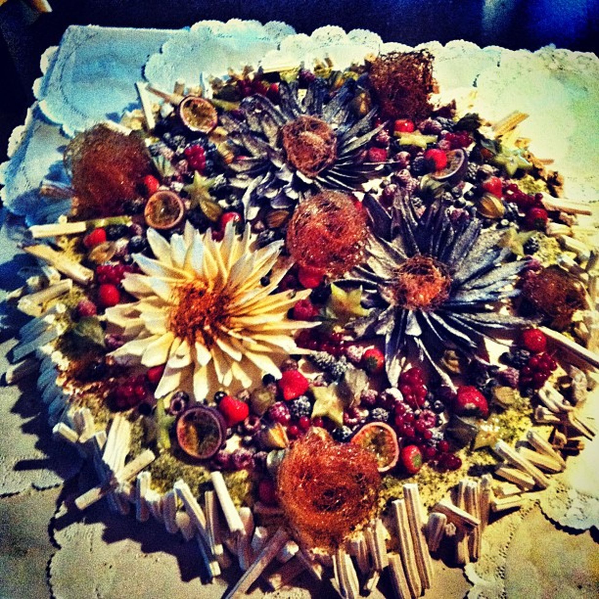 Best wedding cake ever :D