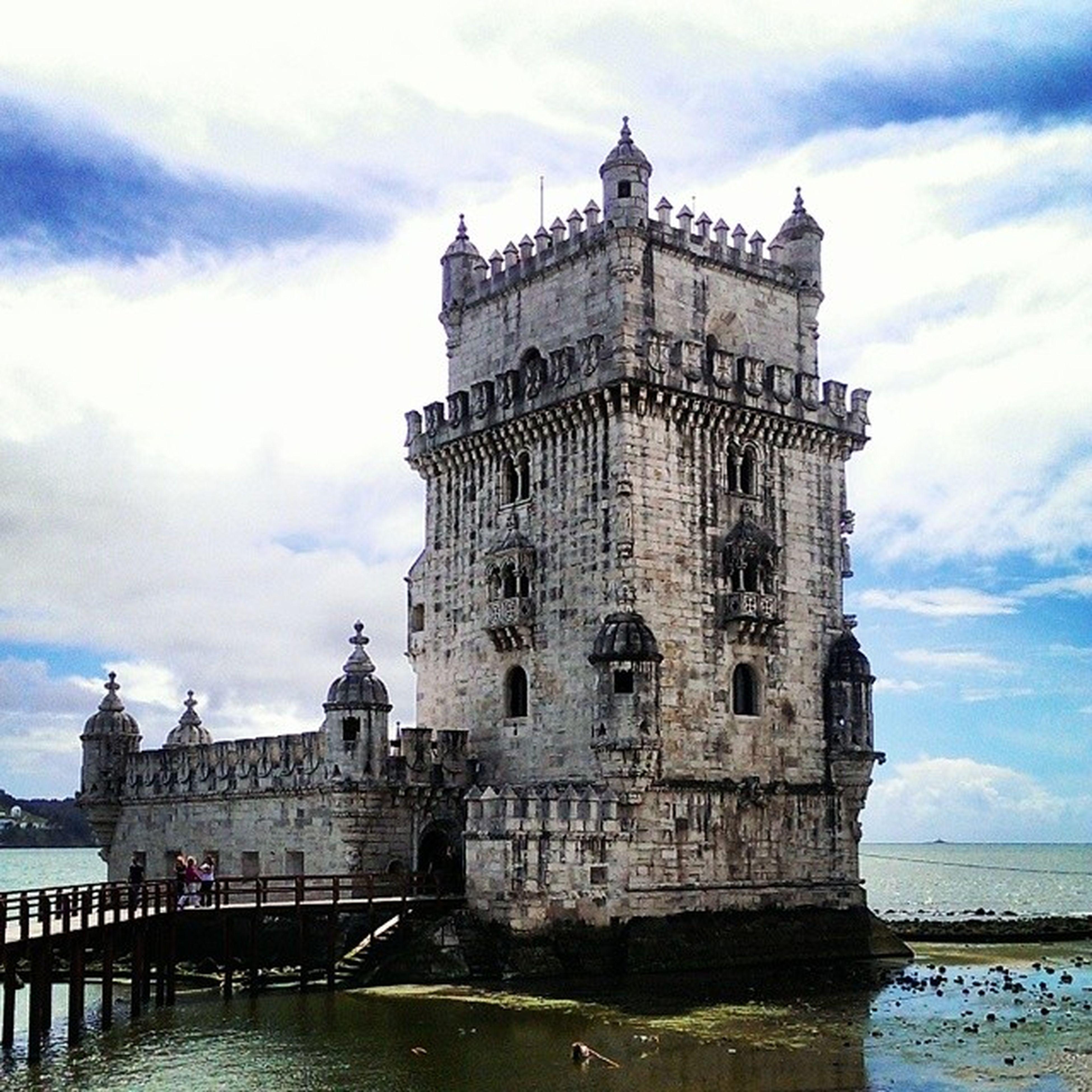 Belém Tower Torre_de_Belém St_Vincent Military Fortified Santa Maria De_Belém Lisbon Portugal Unesco World Heritage Site Tagus River Maritime Medieval Lookout Protection Architecture Design History Tourist Travel Photography