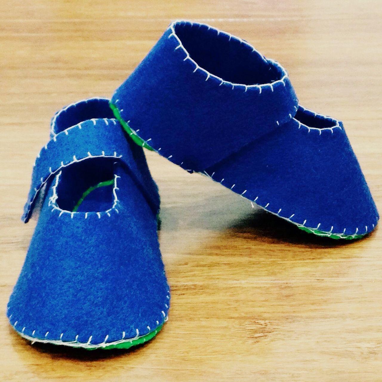 Diy Project Babyshoes  Crafts FeltCraft