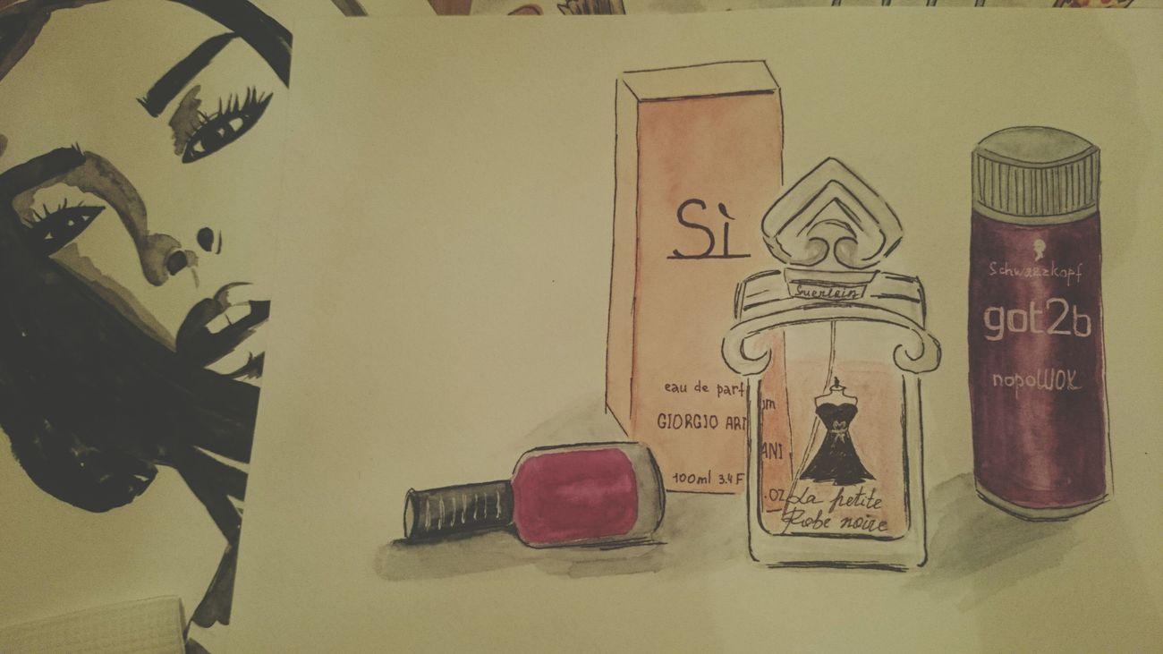 Sketching Sketch Illustration Parfume