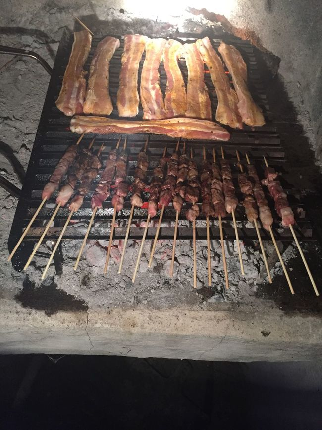 Bacon Barbecue Barbecue Grill Brochettes Food Food And Drink Grilled Meat Party Pork