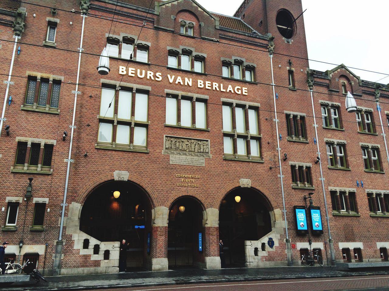 Beurs van Berlage Beurs Van Berlage Amsterdam Holland Stock Exchange Building