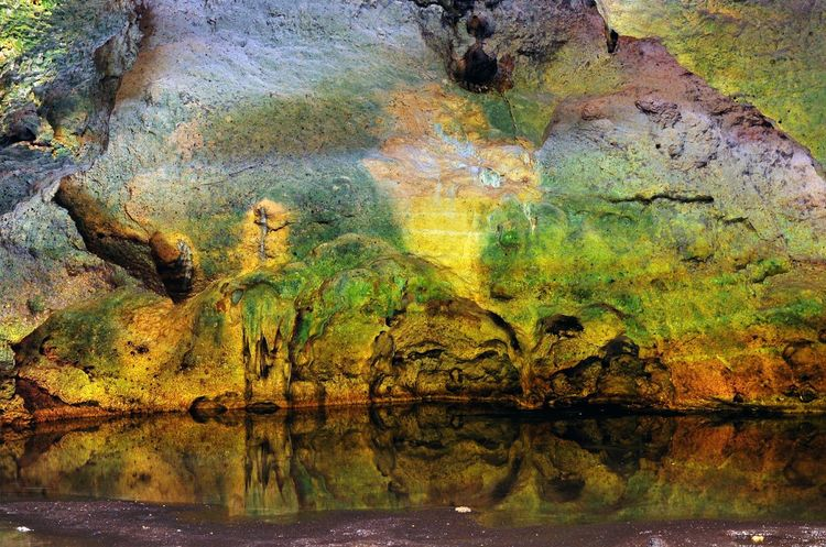 Water Backgrounds Textured  Multi Colored Outdoors Reflection Tourist Attractions Travel Destnations Travel Photograpy Caribbean Life Puerto Rico Tourist Destination Travel Photography Adventures Bosque Seco De Guanica Guanica, PR Caving Caves Photography Speleology Cueva Murciélago Scenics Landscape Beauty In Nature Rock - Object