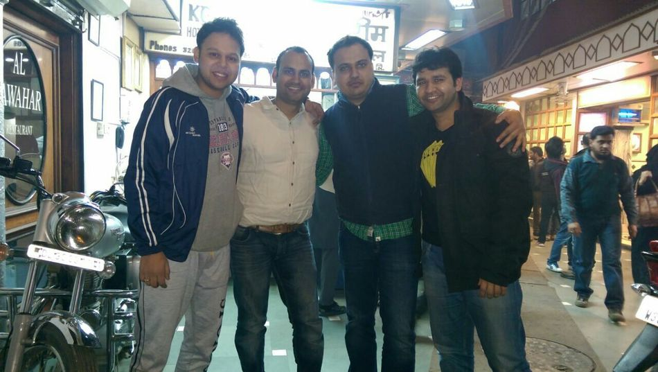 having fun with frds...second frm left..