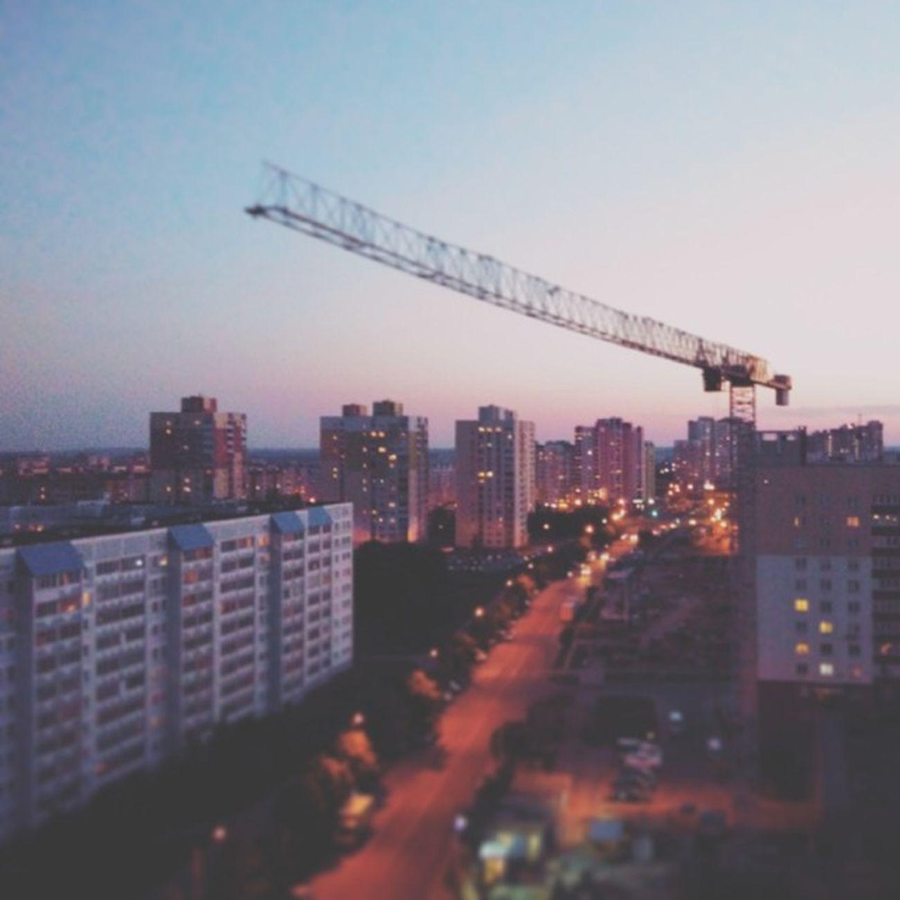 Город жив, город дышит Cityminsk Instaminsk осторожноработаеткран