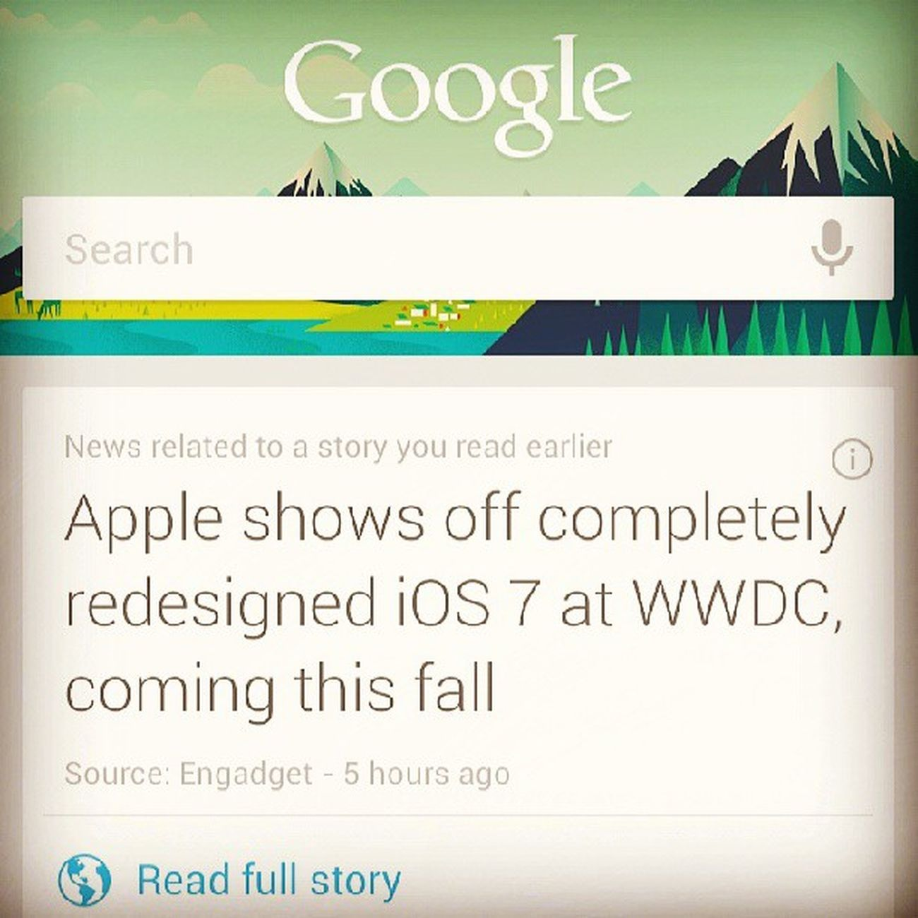 Apple Google WWDC Instapic instadaily instagood instacool instagrammer googlenow like love ios7