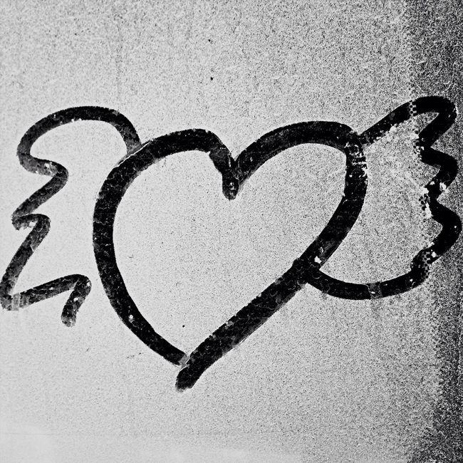 Filthy-car-art :-) Angel Heart Drawing