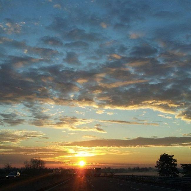 Sunrise Sky Sun Clouds
