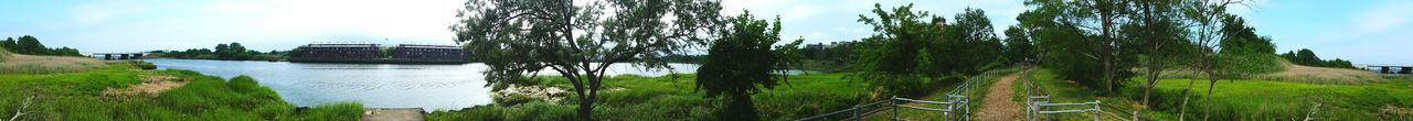 Check This Out Hanging Out Enjoying Life Relaxing Water Trees And Bushes Greengrass Panoramic Marshland  Grass