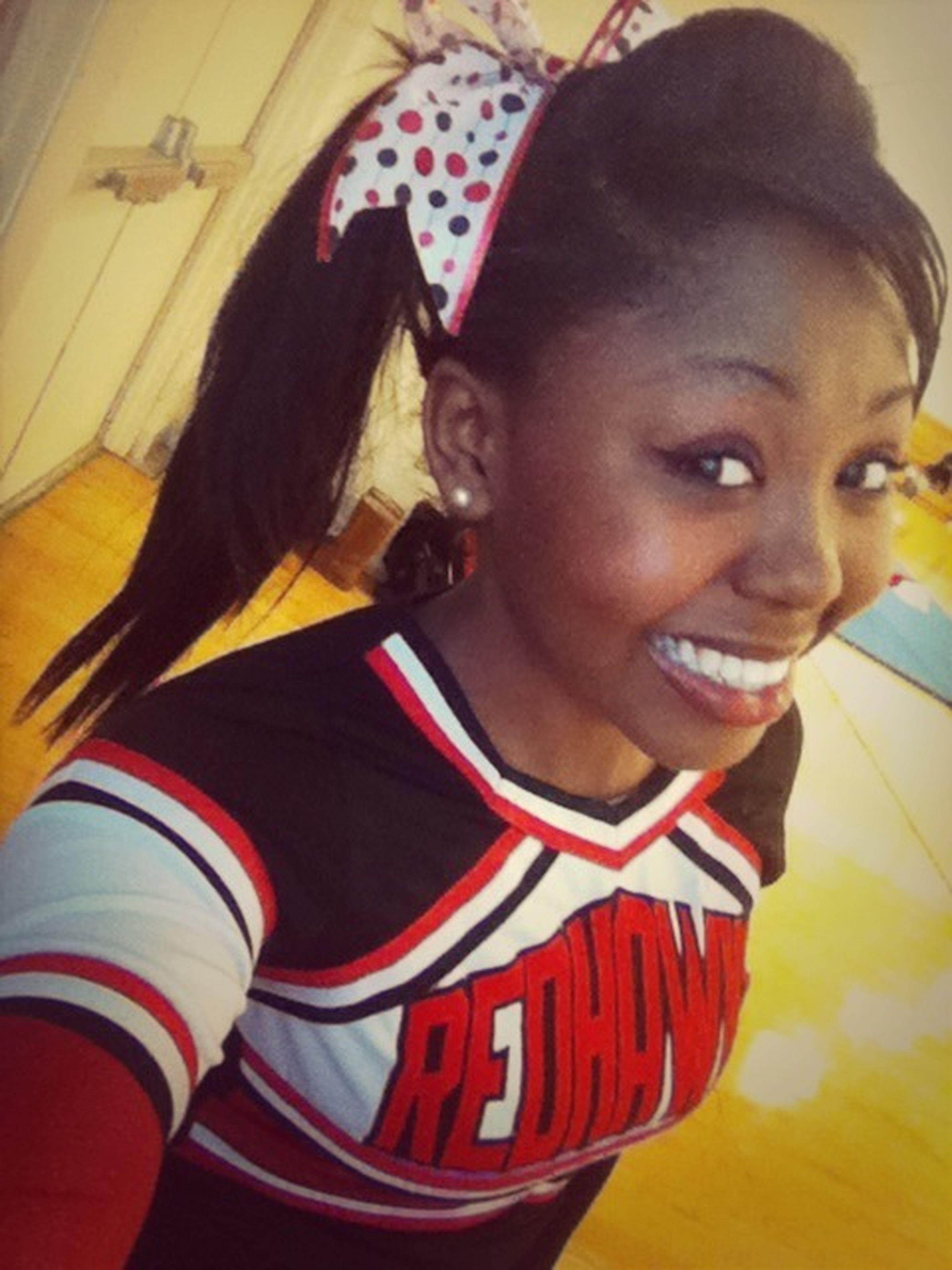 Cheerleading, I miss this :(