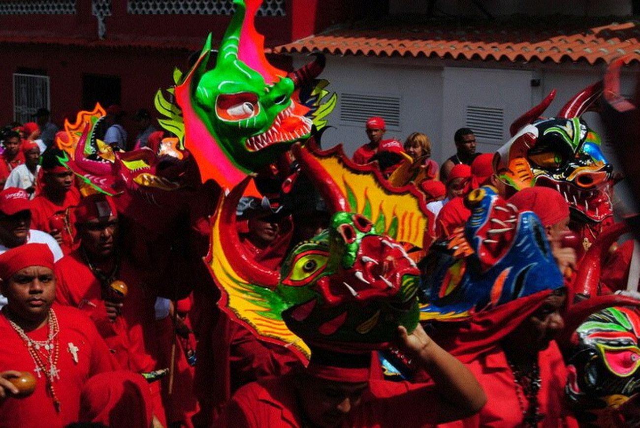 Yare. DiablosDansantesDelYare Unesco Venezuelantraditionalculture