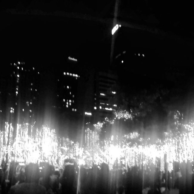 Bnw Black And White Black & White Blackandwhite Lights Philippines More Fun In The Philippines  Ayala Ayalatriangle Ayala Triangle Gardens Ayala Triangle Makati Night Lights Showing Imperfection Need For Speed Night Night, Sleep Tight