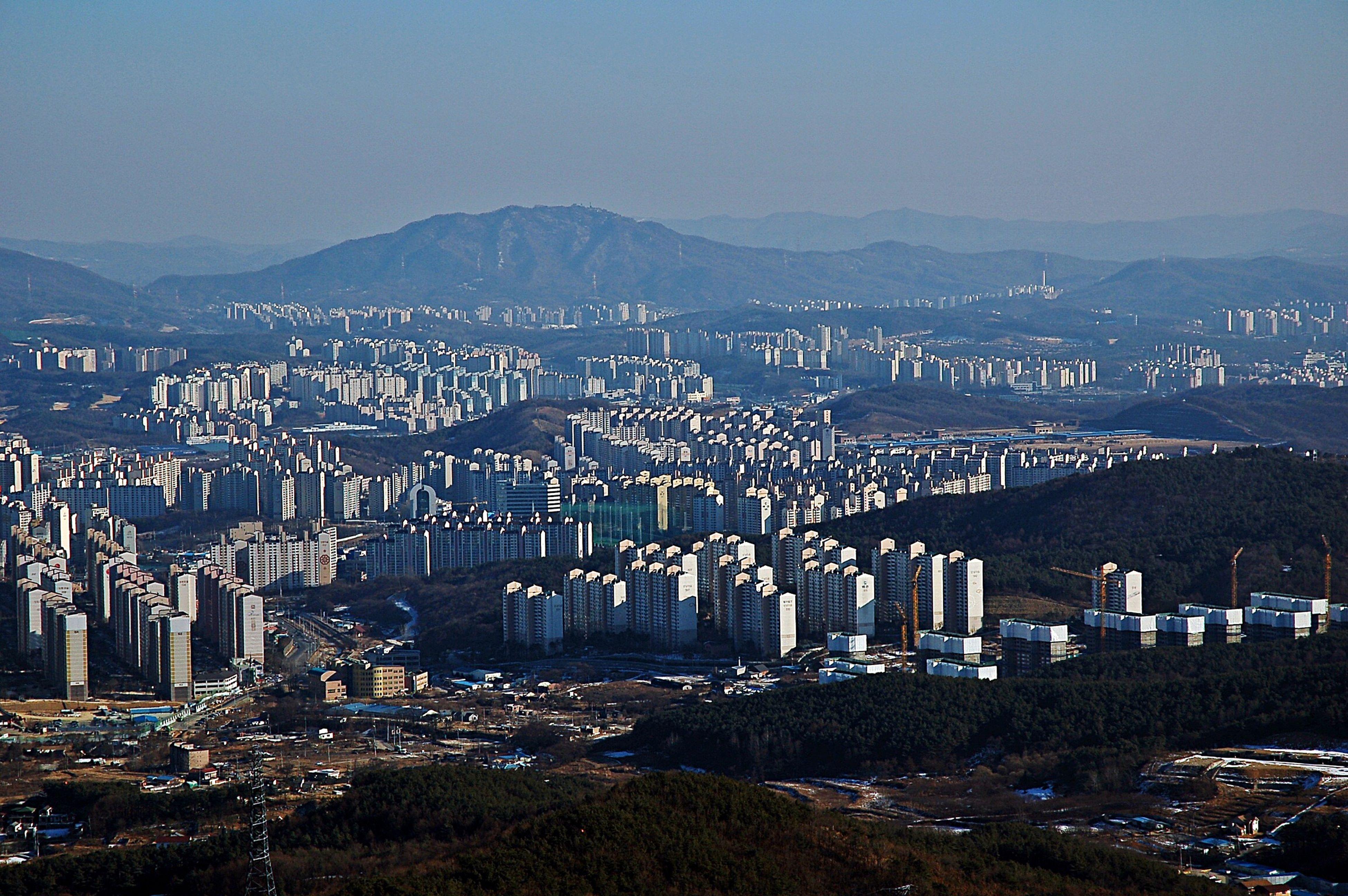 Gwanggyo Mountain Landscape Nikon D50