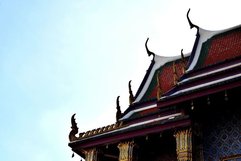 Architecture Temples Grand Palace Bangkok Thailand Sky History Travel Destinations EyeEmNewHere