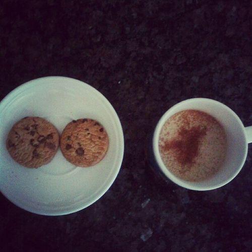 Cappuccino Cookies Coffees Breakfasts  xicara