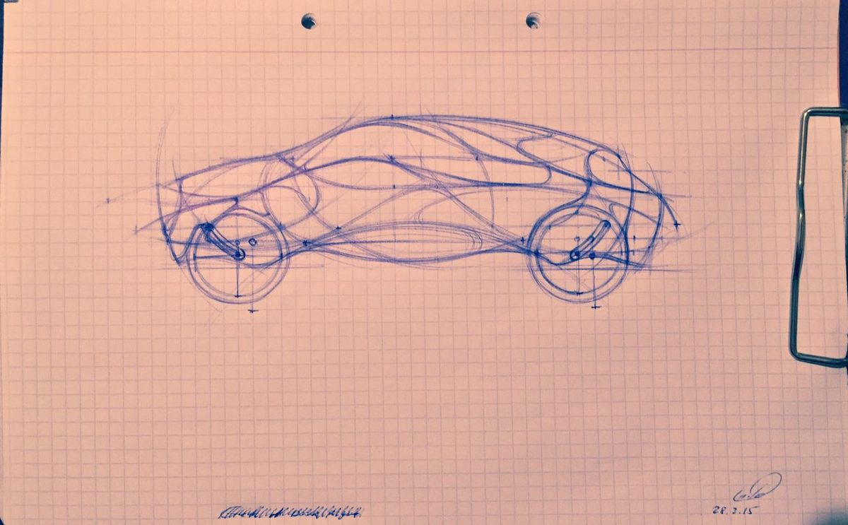 Alpivan Lalalama Tesla UI Tron Vehicles Elon Musk Futuristic Organic Interface