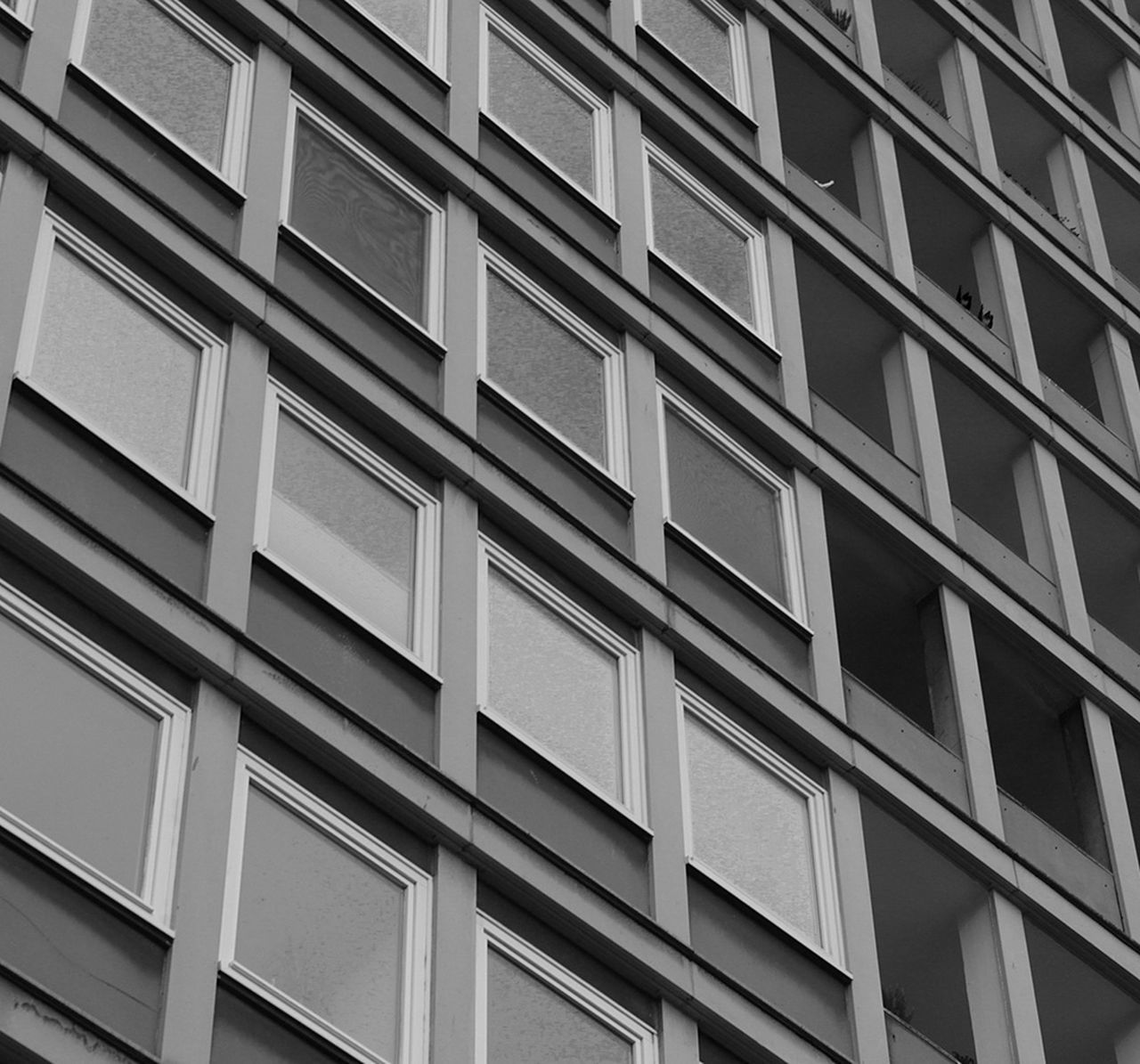 Building Exterior Architecture Built Structure Window Full Frame Low Angle View Outdoors Backgrounds Day Repetition No People City Berlin Paris Tokyo Barcelona Geometric Shape Forms Lines Germany Geometry