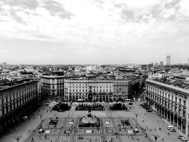 Architecture History Through The Lens  At Duomo Di Milano Up On The Roof City View  Milano Living Bold