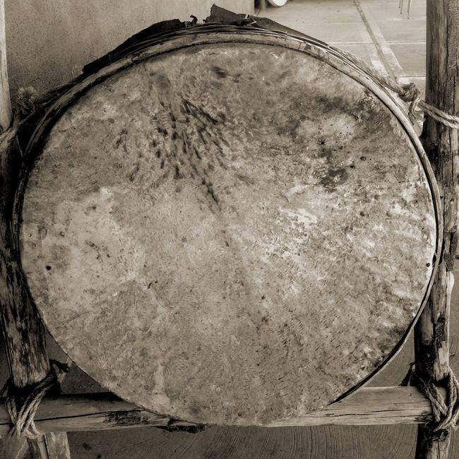 Large Drum Head Taking Photos Mandala Black And White Shamanism Jung Abstract Happy Haiku