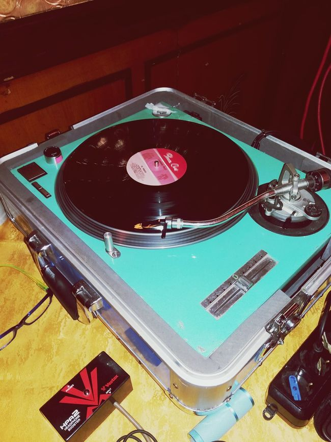 LP Deejay Party Fun Enjoy Vinyl 33 Rpm Record Music Turntable