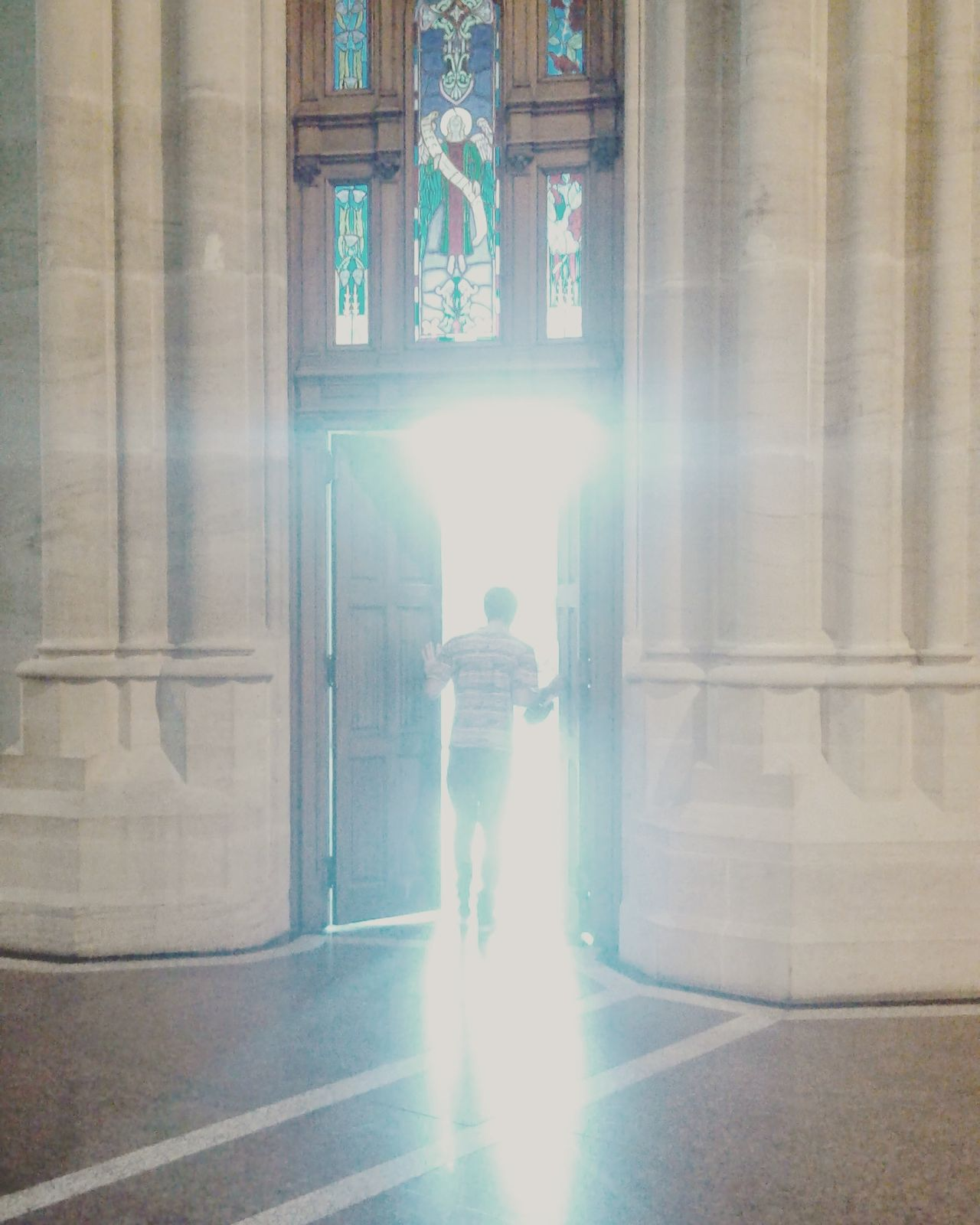 Cathedral Rapture Science Fiction Salvation  No Filter Doors light and reflection First Eyeem Photo