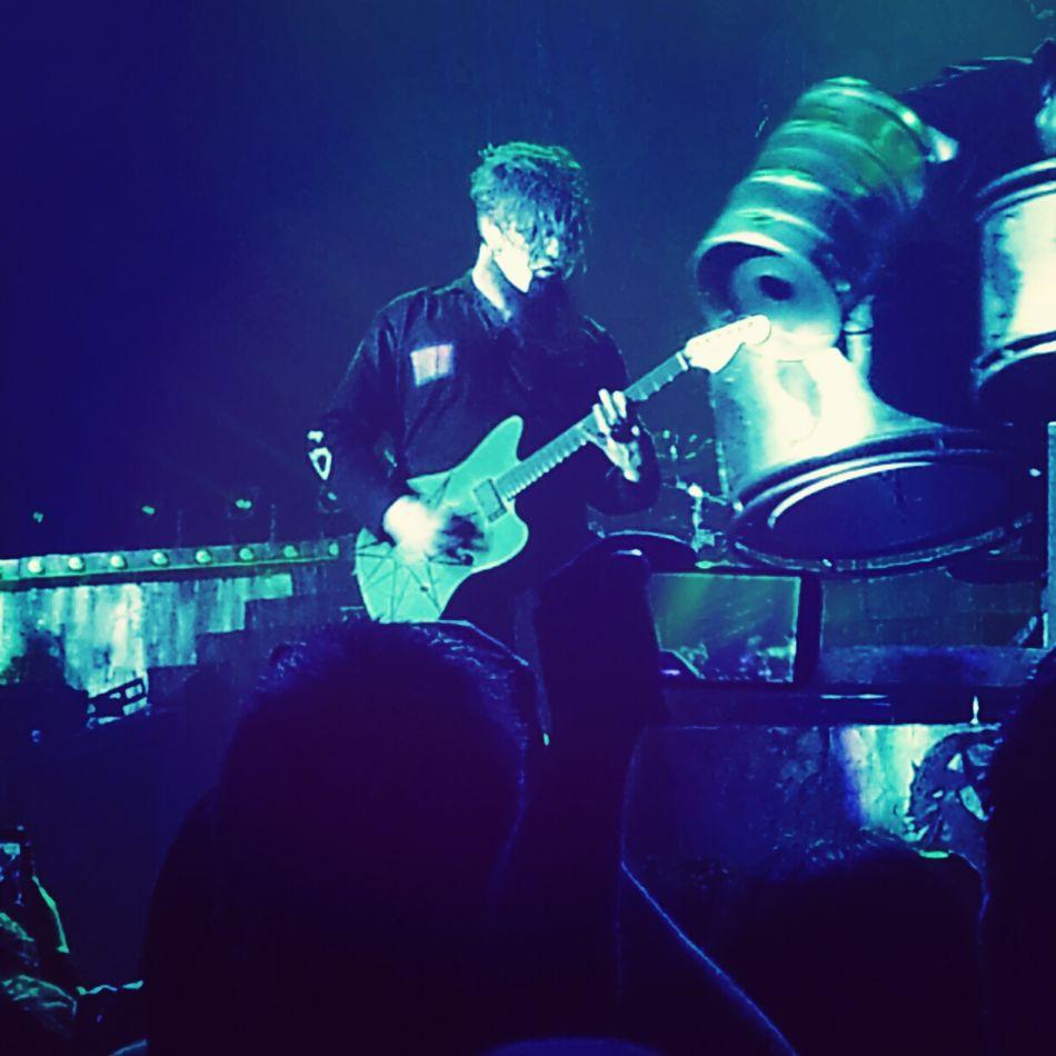 Mr James Root. 02.02.15 James Root Sliknot Luxembourg Concert