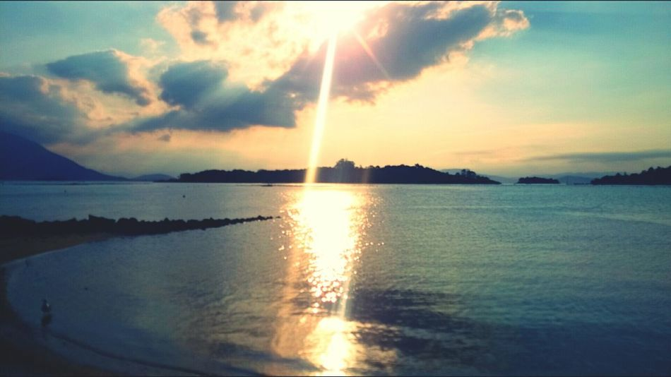 Walking Around Enjoying The Sun Island Life Sunset