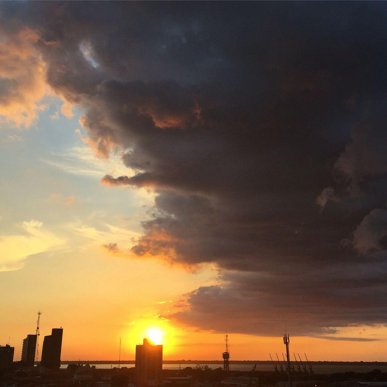 Belém do Pará e suas cores incríveis! Sunset