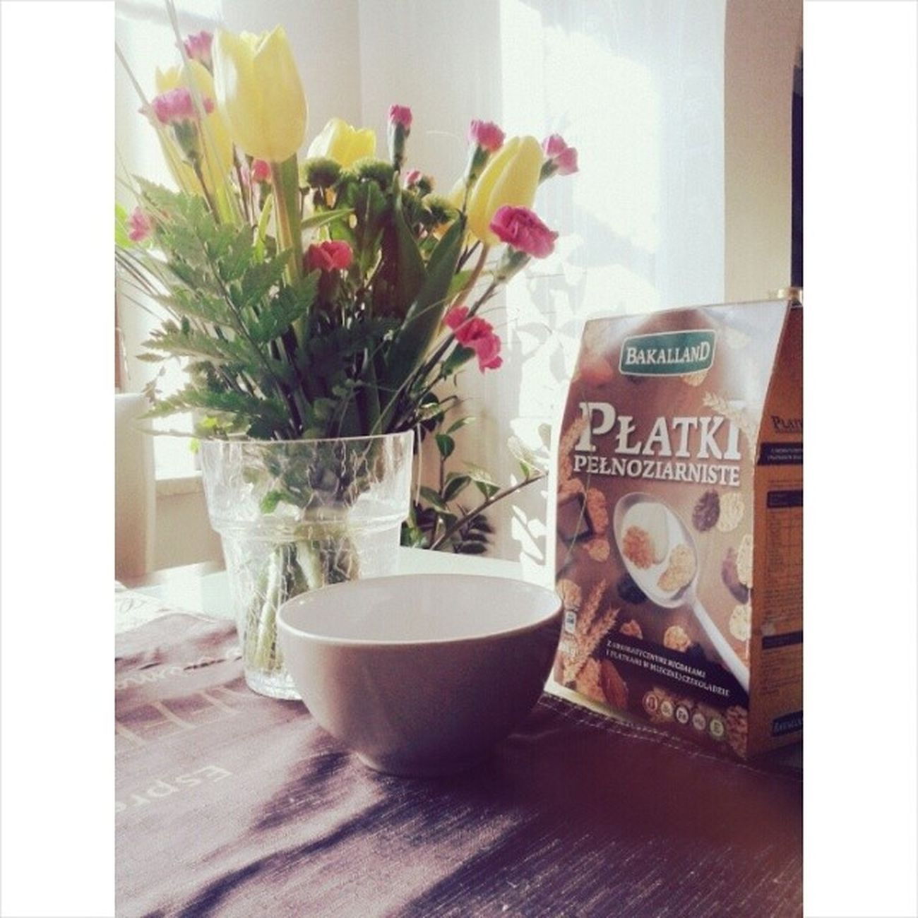 Good Morning Sunshine Breakfast Śniadanie Beautiful Day Photo Polishgirl Poland Morn Sun Flowers Bakalland Love Photooftheday