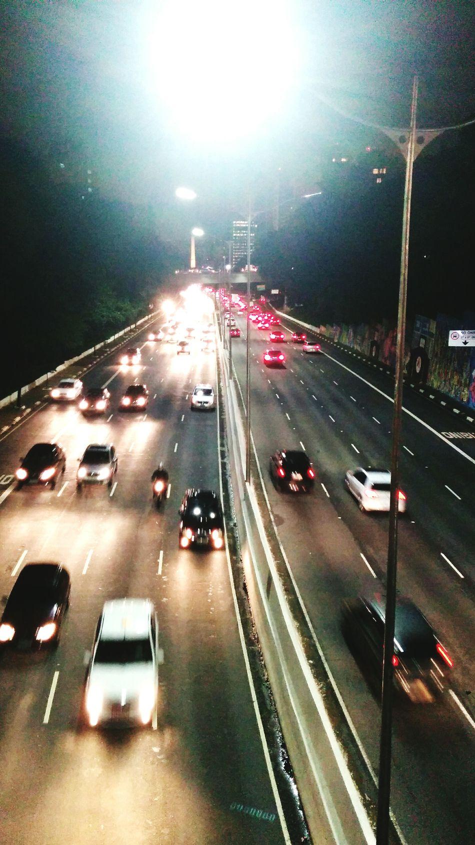 Rush! Rush! Rush! Talking Photos Walking Around Enjoying Life Taking Photos Light Avenue Cars Night Rush Hour Sao Paulo - Brazil