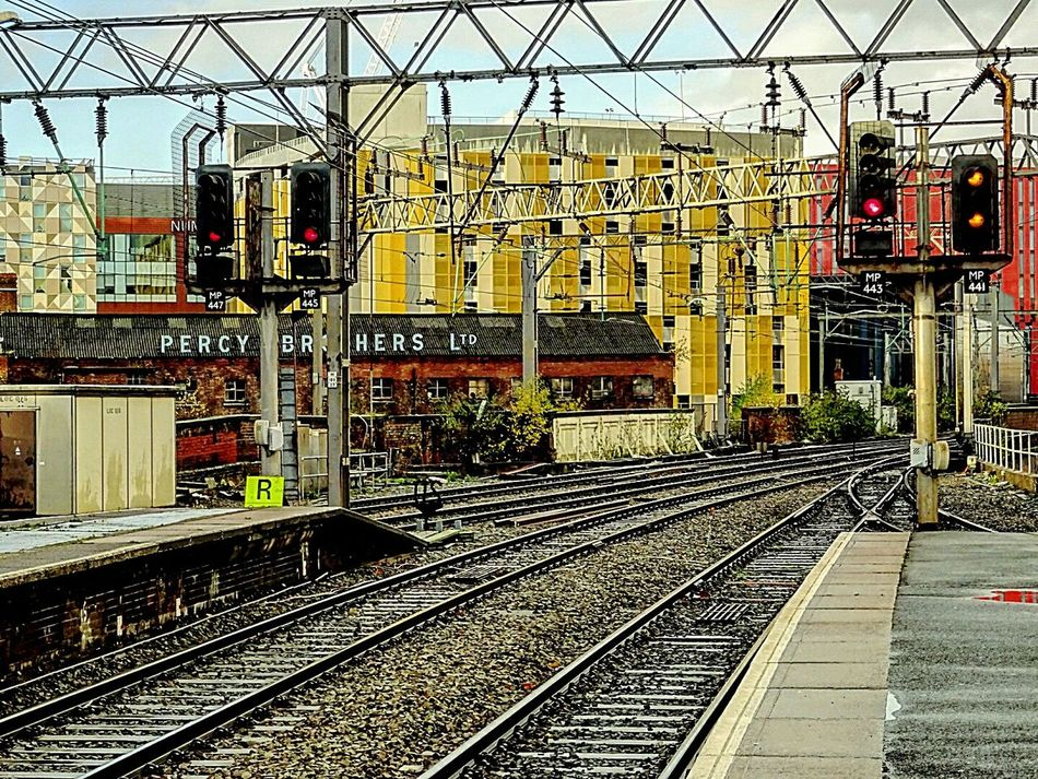 Trains Industrial Photography Urbanphotography Urban Railroad Track Travelling Photography Architecture Britain British Manchester United Kingdom England Railway