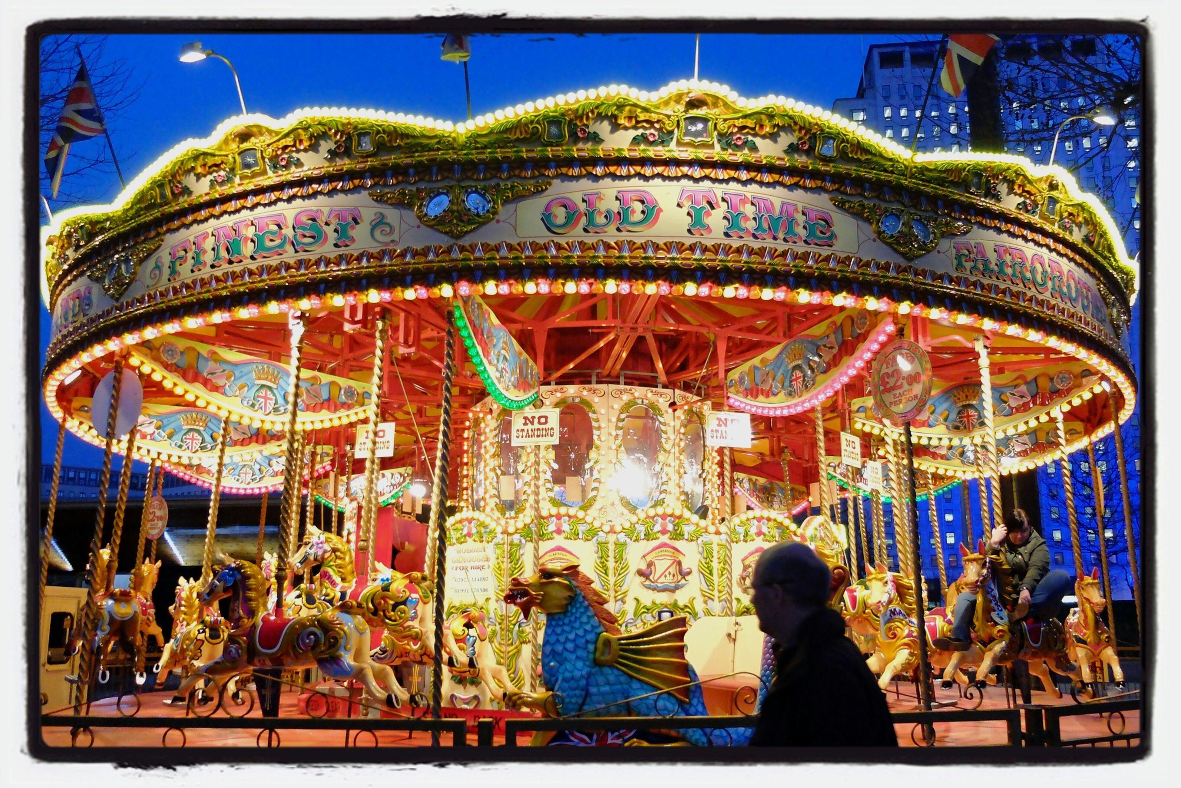 Carousel on the South Bank, London. London Taking Photos
