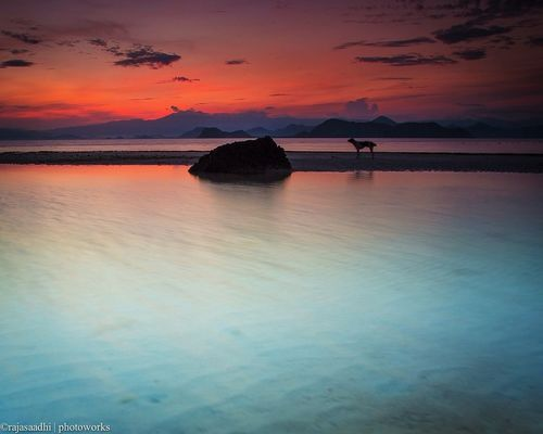 at Kanawa Island, Flores by Rajasa Adhi