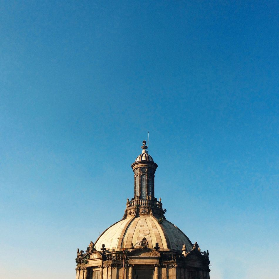 Architecture Blue Built Structure Clear Sky Eye4photography  EyeEm Best Edits EyeEm Best Shots EyeEm Gallery Mexico City Nature Part Of Sky Travel Destinations VSCO Vscocam Vscogood Vscophile