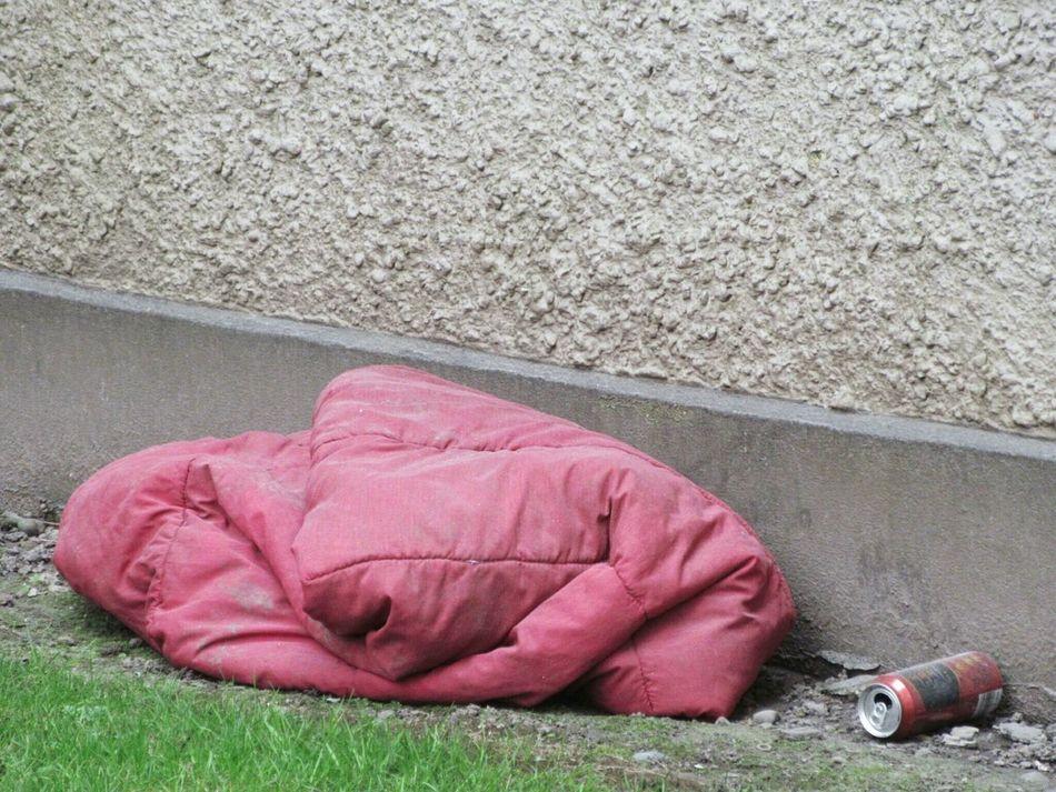 Night Night, Sleep Tight Bed for the night for a homeless person Homeless Homelessness  Sleepingrough SleepingBag Cork City Ireland