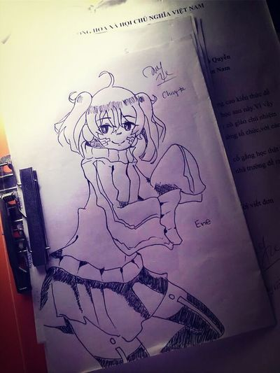 say hello to Ene :* :* :* :* Art Dawing Japan