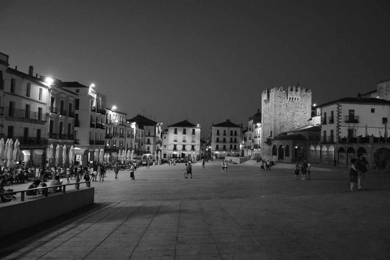 B&W Portrait Cáceres (Spain) Night Old Part Of City First Eyeem Photo EyeEmNewHere