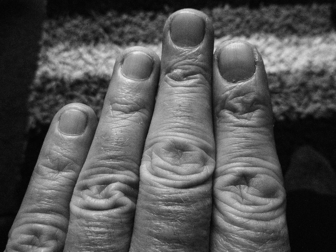All My Own Work Black And White Photography Digital Digits For Snappin Photos Fingers Knuckles No Edit/no Filter Patterns In The Fingers Unique To Me
