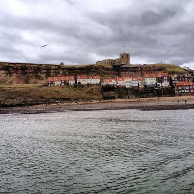 cloud_collection  at Whitby Harbour by Claire Crehan