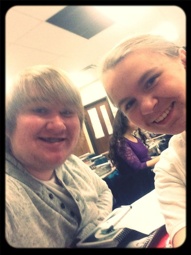 With Megan