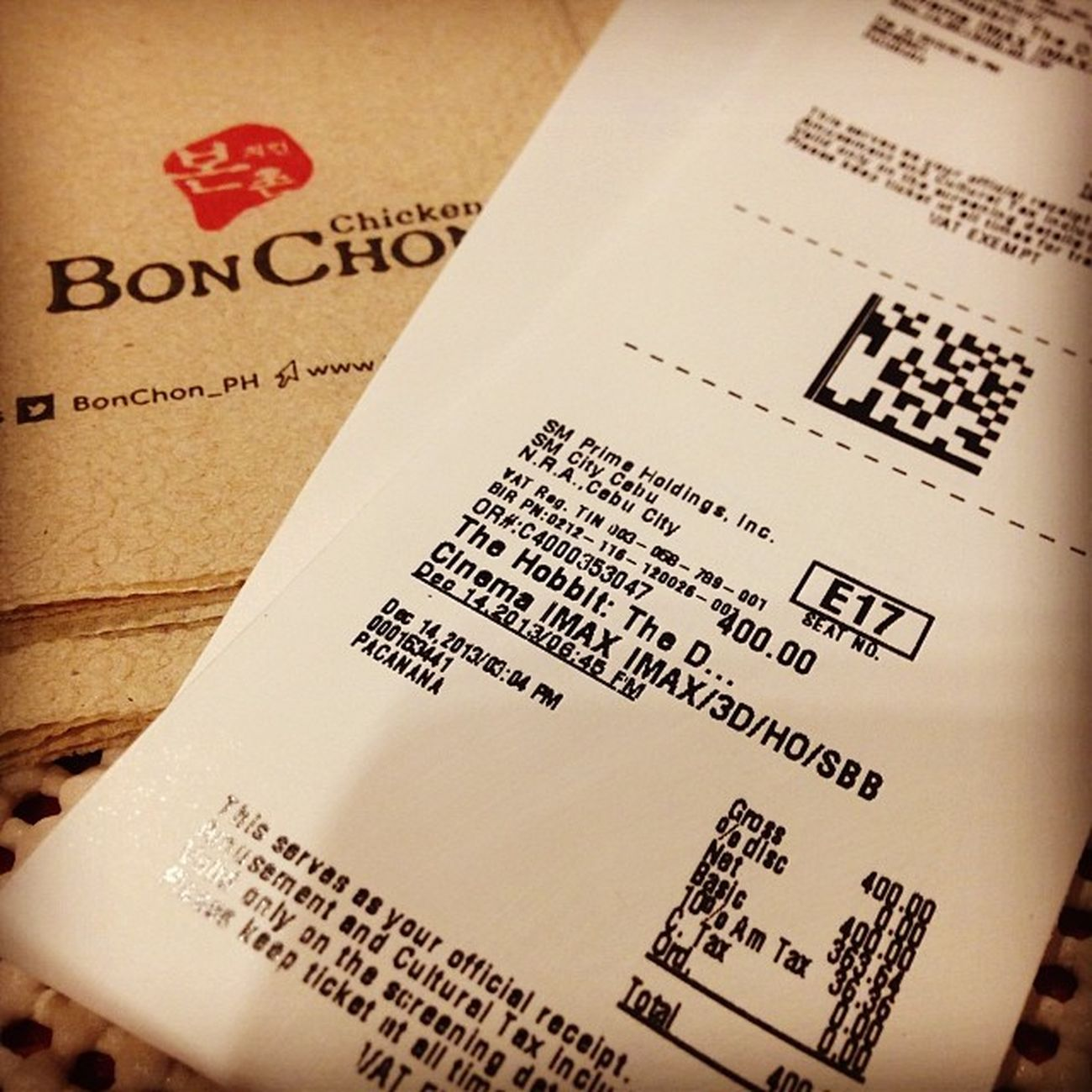 Wasting time... kay 6:45 pm pa ang movie TheHobbit BonChon