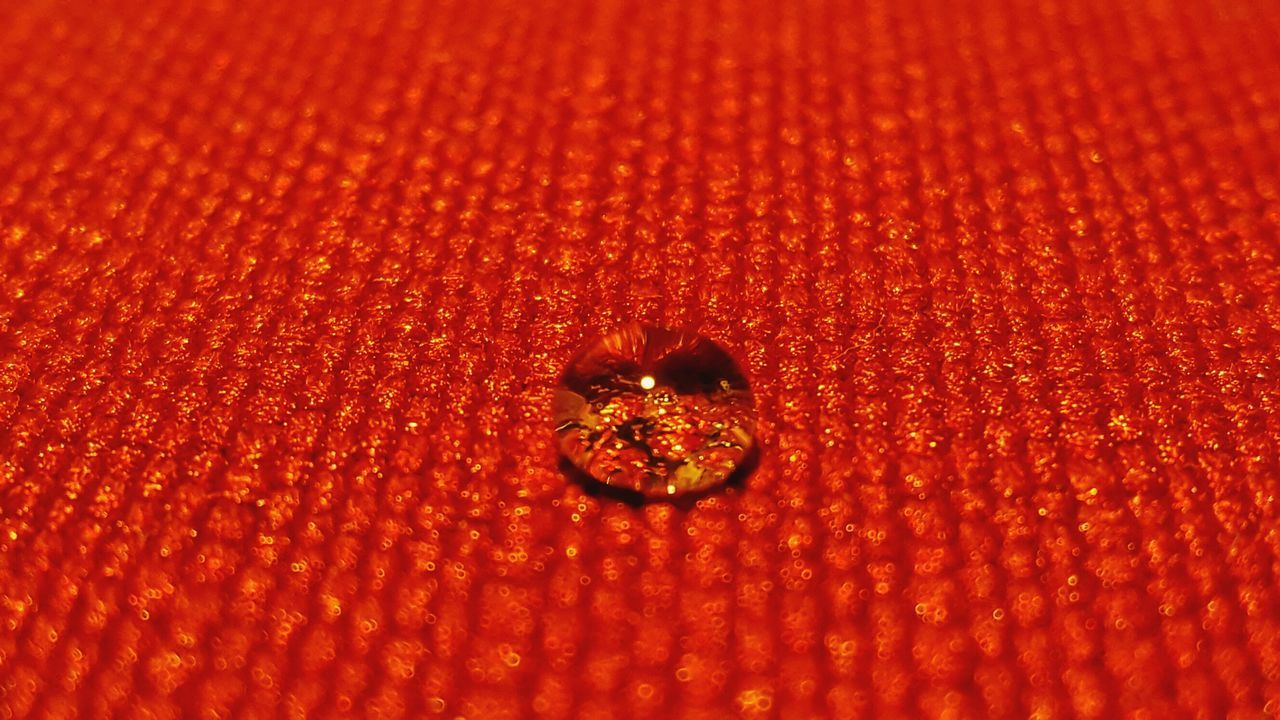 Red Full Frame Close-up No People Water Indoors  Freshness Waterdrop