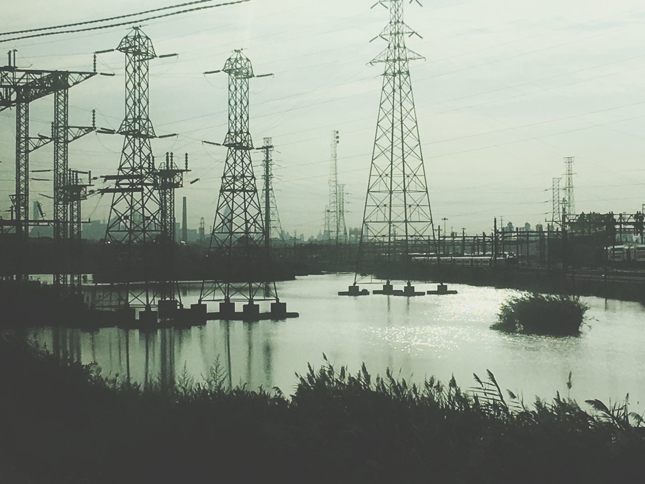 Energy Grid Energy Energy Tower Industrial Landscapes Water Train Electric Grid Electricity  Electric Tower