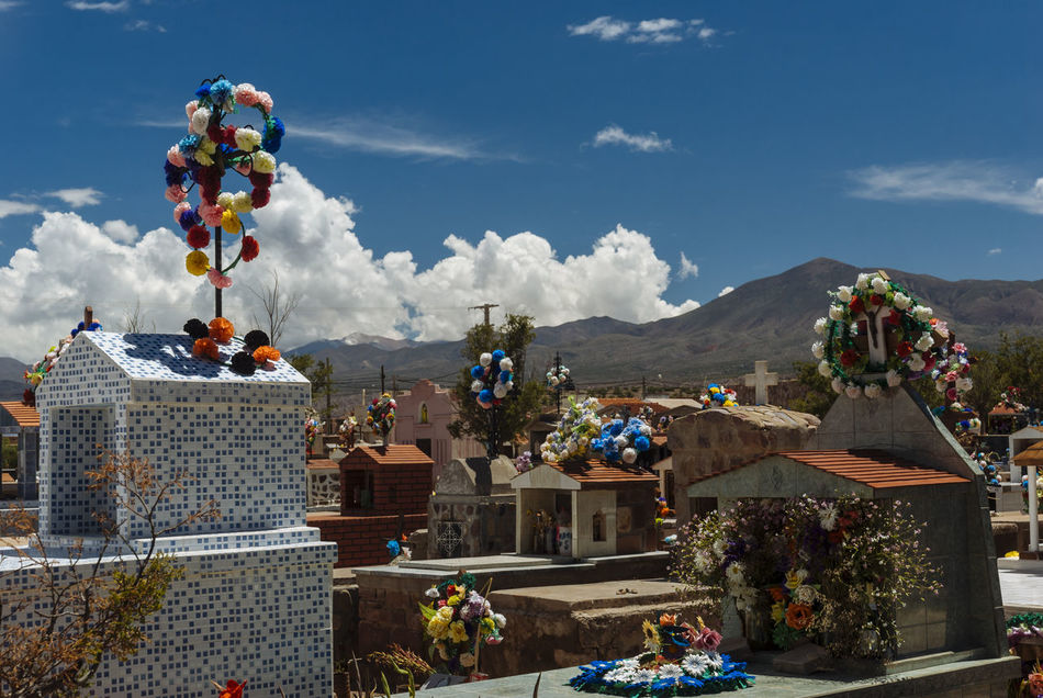 Andes Andes Mountains Argentina Cementery Cross Death Flowers Humahuaca Jujuy Province Mountain Tumblr