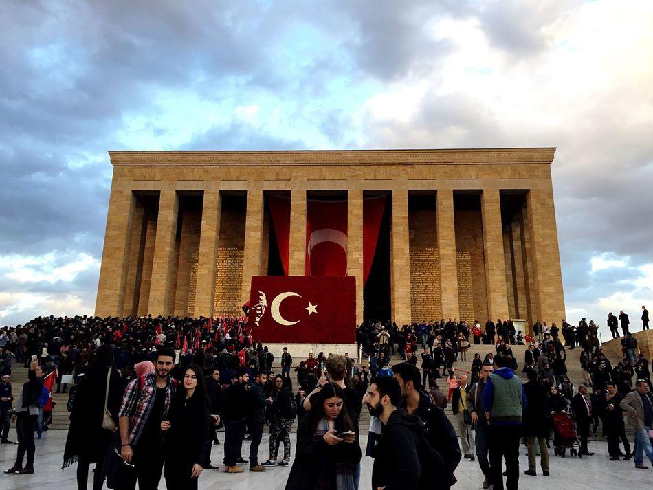 Atatürk Anıtkabir Anıttepe 10Kasim1938 10Kasim Ata Tourism Sky Outdoors Architecture Built Structure Mustafa Kemal Atatürk MustafaKemal