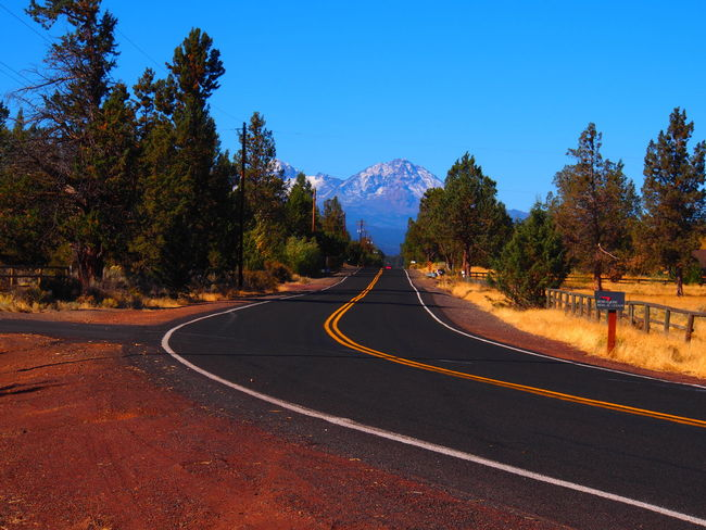 Learn & Shoot: Leading Lines first snow on the Cascades of Eastern Oregon! First Snow ♥ Oregon Cascades NewberryVolcanicNationalMonument Rural Scenes Country Road Landscape_Collection Landscape_photography Landscape The Essence Of Summer- 2016 EyeEm Awards