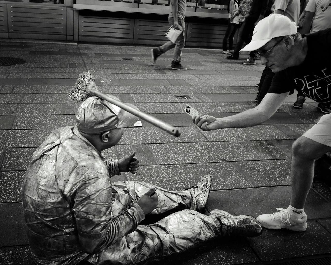 NYCImpressions EyeEm In NYC 2015Times Square NYC Bussiness Card Street Performer