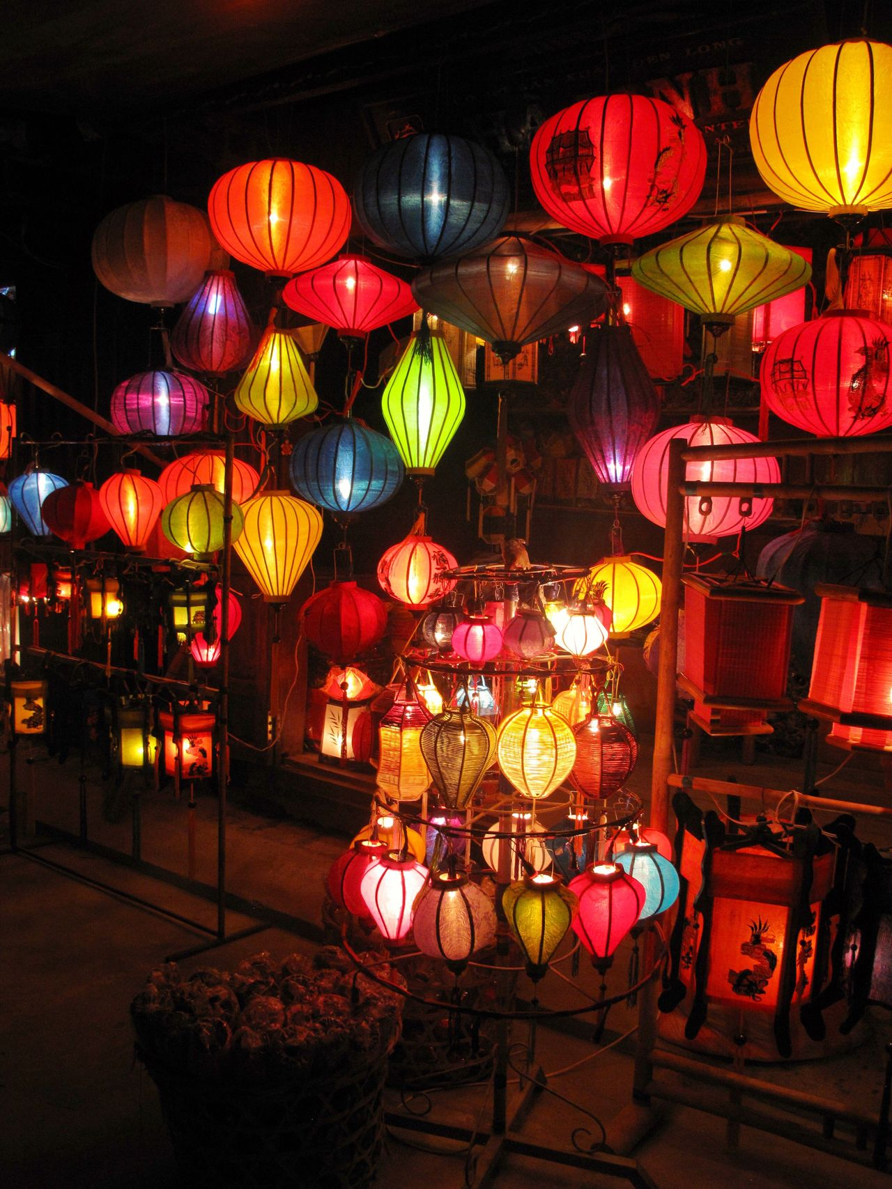 Multi Colored Night Cultures Chinese Lantern Celebration Illuminated Lantern No People Chinese Lantern Festival Large Group Of Objects Outdoors Architecture Hoi An Vietnam Travel Destinations From My Point Of View Weltblick Eye4photography  Travel Photography