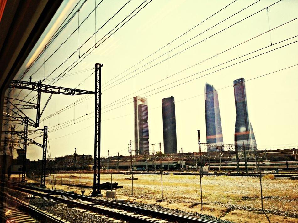 Leaving Madrid #train #travel