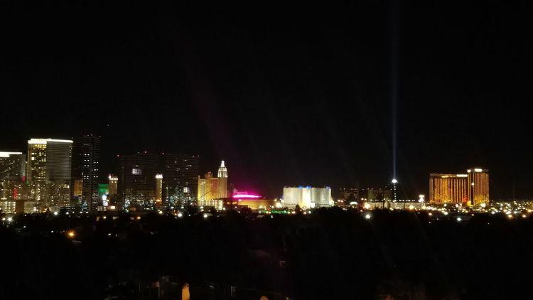 Night Cityscape MyCity❤️ Las Vegas Illuminated Travel Destinations